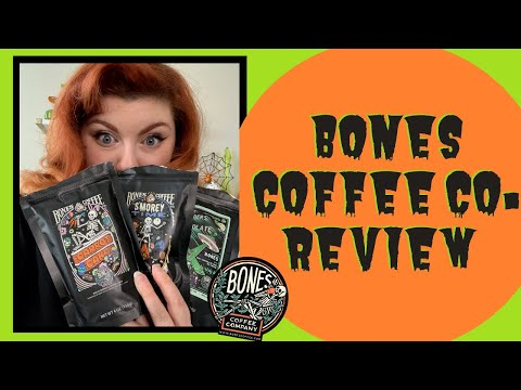 BONES COFFEE CO. REVIEW   Trying 5 Different Flavors from the Bones Coffee Co. Sample Pack!