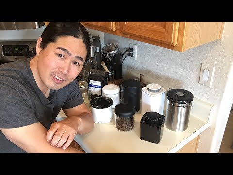Coffee Canister Review | Best Coffee Canisters at Home