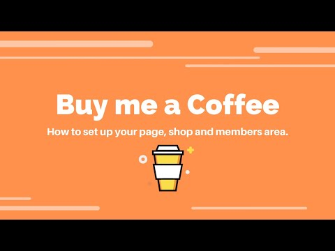 Buy Me A Coffee review and tutorial (how does it work)