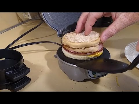 The Hamilton Beach Breakfast Sandwich Maker – Alternative instructions