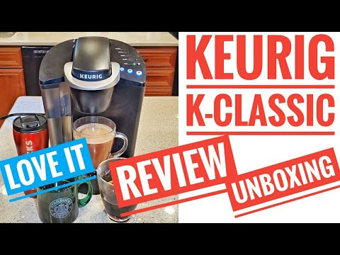 DETAILED REVIEW KEURIG K-Classic Coffee Maker AMAZON'S #1 Single Serve Brewers Unboxing DEC 2020