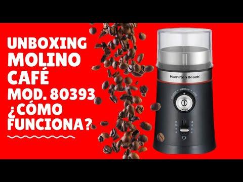 Unboxing Molino de café y especias 80393 Hamilton Beach Negro Tips Intrucciones Uso