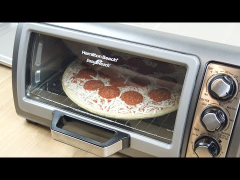 Hamilton Beach 6 Slice Convection Toaster Oven Demo