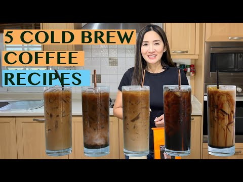 START YOUR OWN COLD BREW COFFEE BUSINESS: 5 DELICIOUS ICED COFFEE RECIPES USING COLD BREW