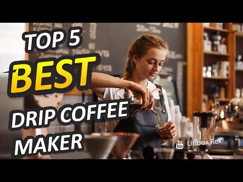 ✅ Best Drip Coffee Makers 2021 – [Top 5 Picked]