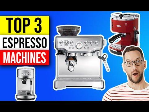 ✅ Best Espresso Machines 👌 Top 3 Best Espresso Machine Picks | 2021 Review