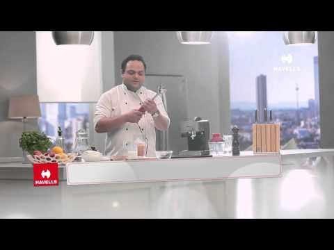 Cold Coffee with Chocolate flavour with Havells Coffee Maker and Blender by Chef Shantanu Gupte