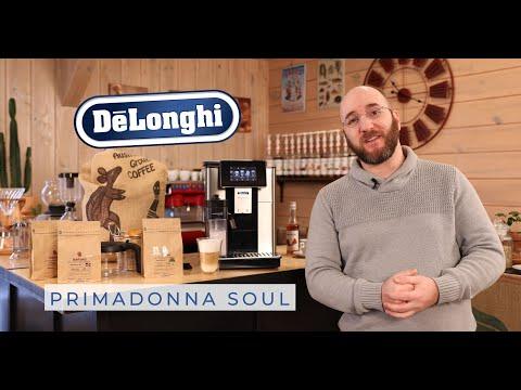 Primadonna Soul de Delonghi – Présentation de l'expresso broyeur par Buroespresso