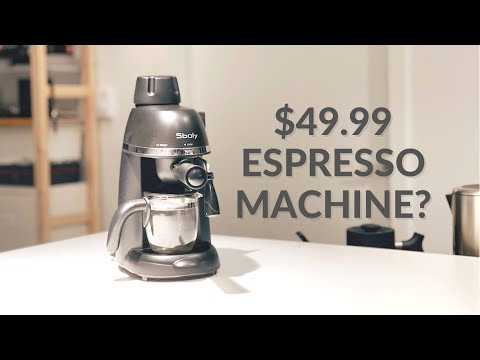 I Tested Amazon's SECOND Cheapest Espresso Machine So You Don't Have To