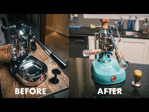 My Recycled Skateboards Espresso Machine Build! (La Pavoni Europiccola)