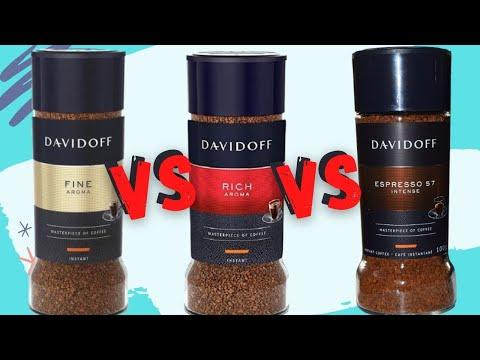 Fine Aroma vs Rich Aroma vs Espresso 57 | Davidoff Coffee | Review and comparison