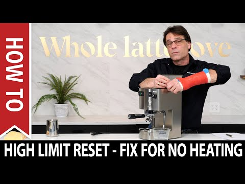 Espresso Machine High Limit Reset – Single Boiler Steaming Do's and Don'ts