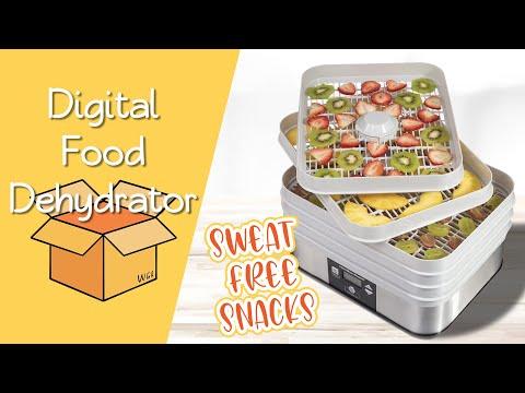 Homemade Dried Fruit Snacks Featuring Hamilton Beach Digital Food Dehydrator