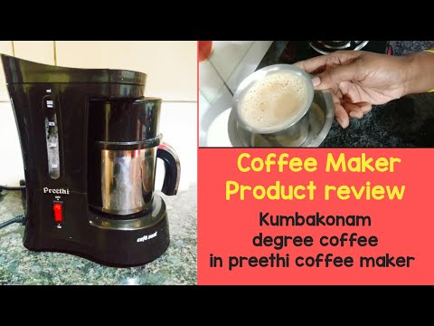 Preethi Coffee maker review in Tamil/Kumbakonam degree filter coffee in Tamil/Aadhira's Creations