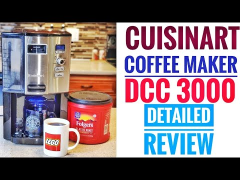 Cuisinart DCC3000 12 Cup Coffee Maker DETAILED REVIEW On-Demand