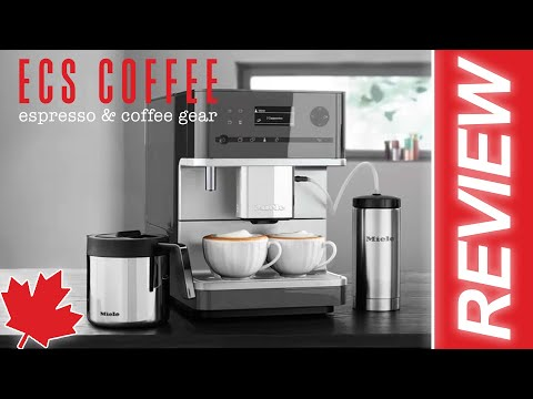 Miele 6350 Espresso Machine Review 2021