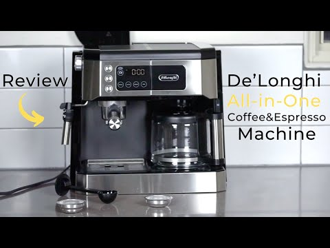 De'Longhi All-in-One Combination Coffee and Espresso Machine Review
