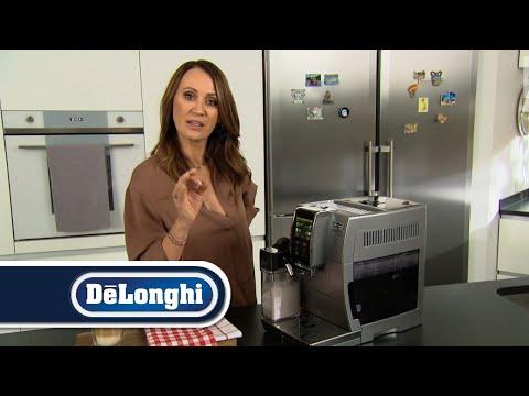 Ekspres do kawy De'Longhi Dinamica Plus – test Pani Gadżet | Latte Crema