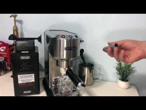 مشاكل ماكينة القهوة ديلونجي ديدكا Delonghi dedica EC680 EC685