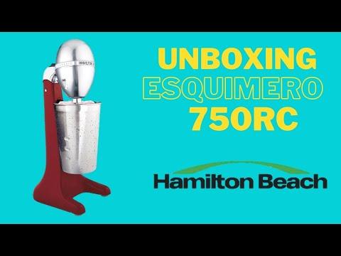 Unboxing Esquimero Malteadora Chocomilera 750RC Hamilton Beach ¿Funciona?