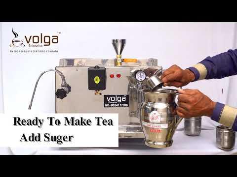How to make Tea & Coffee using Volga Espresso Machine