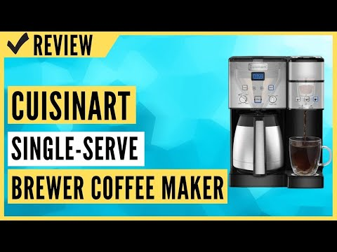 Cuisinart SS-20 Coffee Center 10-Cup Thermal Single-Serve Brewer Coffee maker Review
