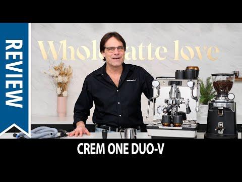Review: Crem One Duo-V Espresso Machine Inside/Out