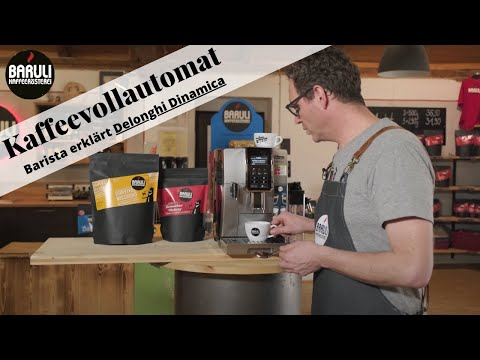 Mr. Baruli testet Kaffeevollautomaten – DeLonghi Dinamica [Schritt für Schritt Anleitung]