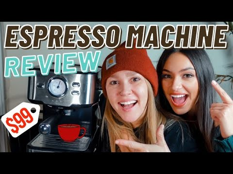$99 Espresso Machine – is it worth it? Amazon Recommended
