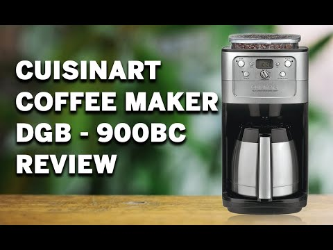 ✅ Cuisinart DGB-900BC Grind & Brew Thermal 12-Cup Automatic Coffeemaker Review