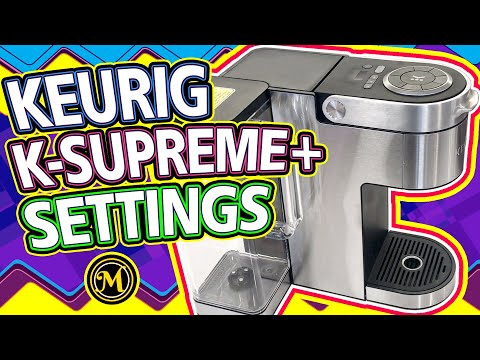Keurig Settings: How to Install Water Filter | K-Cup Reusable Filter | Set Personal Settings