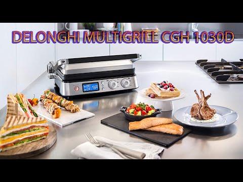 Delonghi Multigrill CGH1012D, CGH1020D ve 1030D Kutu Açılımı, Cihaz Tanıtımı