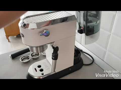 Обзор кофеварки Delonghi EC685.W: готовим вкусный кофе #delonghidedica #delonghi