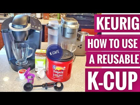 HOW TO USE A REUSABLE KEURIG K-CUP To Make Coffee & Prevent Sediment PERFECT POD Filters