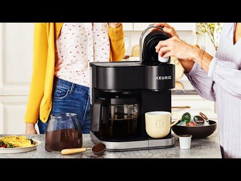 Keurig Coffee Pods | Keurig K-Duo Single Serve & Keurig Carafe Coffee Maker | Home Kit