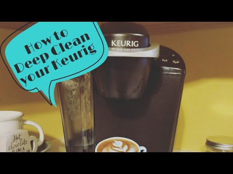 How to DEEP CLEAN Your Keurig Coffee Machine | Descale Your KEURIG