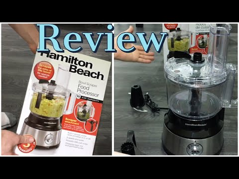 Hamilton Beach 10 Cup Compact Food Processor Review