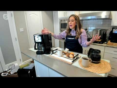Cuisinart Coffee Center 12-cup and Single-Serve Coffee Maker on QVC