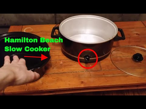 ✅  How To Use Hamilton Beach Slow Cooker Crock Pot Review