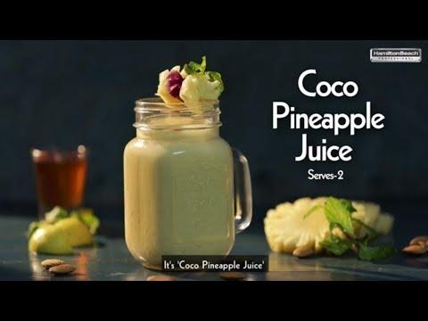 Coco Pineapple Juice | Chef Kunal Kapur | Hamilton Beach Professional