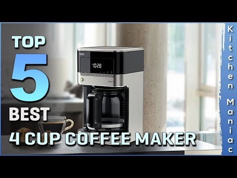 Top 5 Best 4 Cup Coffee Makers Review in 2021