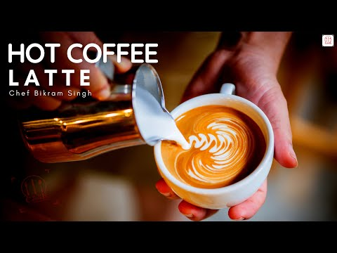 How To Make A Latte At Home With Instant Coffee –  Homemade Latte Without Machine – Latte Cook Show