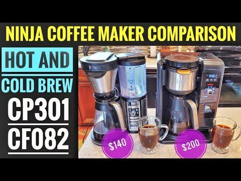 Ninja Coffee Maker Comparison CF082 VS CP301  Hot and Cold Brew System
