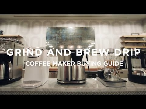 7 Popular Grind and Brew Drip Coffee Makers REVIEWED: A Buying Guide