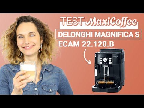 DELONGHI MAGNIFICA S ECAM 22.120.B | Machine à café grain | Le Test MaxiCoffee