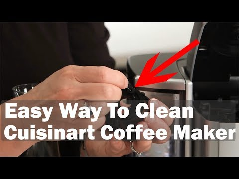 Cuisinart Coffee Maker   How to Clean Cuisinart Coffee Maker SS-10 & SS-15
