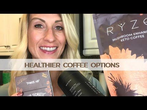 Healthy Coffees & Alternatives : Ryze, MudWtr, Four Sigmatic Mushroom Coffee Review