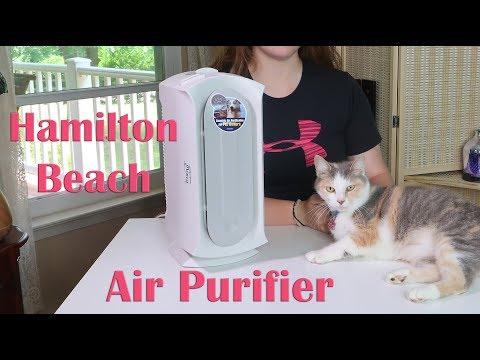 Hamilton Beach AIR PURIFIER (04384) 🍀 Pet Air Cleaner – HEPA & CARBON FILTER REVIEW 👈