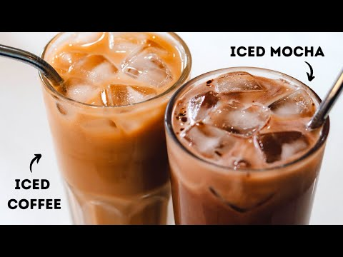 HOW TO MAKE INSTANT ICED COFFEE | ICED COFFEE TWO WAYS INSTANTLY