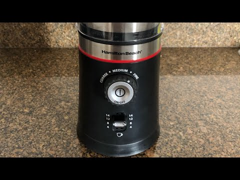 Hamilton Beach Custom Coffee Grinder Review. Save money by grinding your own coffee!